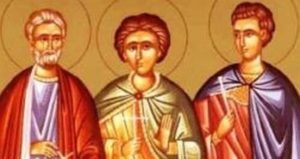 Αγιοι Μηνάς, Ερμογένης και Εύγραφος – Γιορτή σήμερα 10 Δεκεμβρίου – Ποιοι γιορτάζουν
