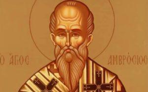 Αγιος Αμβρόσιος: Γιατί θεωρείται προστάτης της δικαιοσύνης