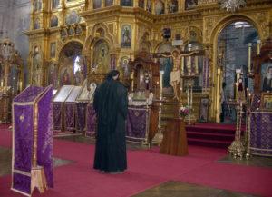 Αγιος Ορος: Πανηγυρίζει η Βατοπαιδινή Σκήτη του Αγίου Ανδρέα