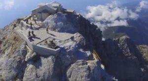 Αγιο Ορος: Εντυπωσιακά πλάνα από ψηλά (BINTEO)