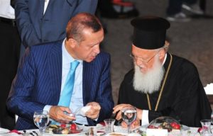 Συνάντηση Βαρθολομαίου-Ερντογάν στην Αγκυρα