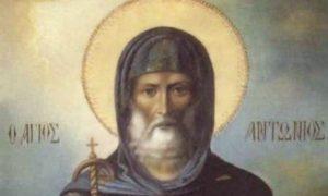 Αγιος Αντώνιος: Συνομιλία του με δαιμόνιο (ΒΙΝΤΕΟ)