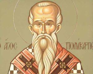 Άγιος Πολύκαρπος Επίσκοπος Σμύρνης – Γιορτή σήμερα 23 Φεβρουαρίου – Εορτολόγιο