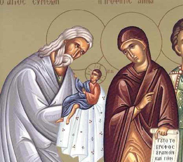 Δίκαιος Συμεών ο Θεοδόχος και Άννα η Προφήτιδα - Γιορτή σήμερα 3  Φεβρουαρίου – Εορτολόγιο - ΒΗΜΑ ΟΡΘΟΔΟΞΙΑΣ