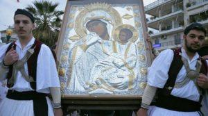 Παναγία Παραμυθία: Η Θαυματουργή Εικόνα στο Βατοπαίδι