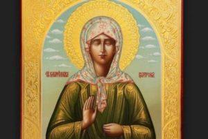 Αγία Ματρώνα: «Θα βάλουν μπροστά σας τον Σταυρό και το Ψωμί και θα σας πούν διαλέξτε!»
