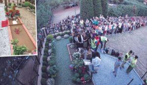 Σουρωτή Θεσσαλονίκης: Ακόμη και Εσκιμώοι στον τάφο του Αγίου Παϊσίου
