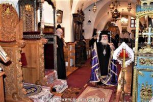 Πατριαρχείο Ιεροσολύμων: Πρώτη Προηγιασμένη Θεία Λειτουργία (ΦΩΤΟ)