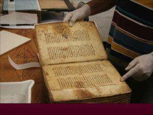 Πώς συντηρείται ένα χειρόγραφο ψαλτήρι του 14ου αιώνα (ΒΙΝΤΕΟ)