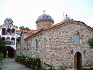 Ιερά Μονή Οσίου Δαυίδ στην Εύβοια (ΒΙΝΤΕΟ & ΦΩΤΟ)