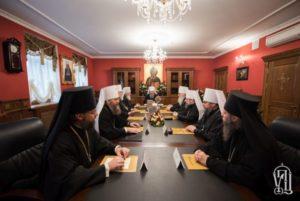 Την ανησυχία της εκφράζει η Ιερά Σύνοδος της Ορθοδόξου Εκκλησίας της Ουκρανίας