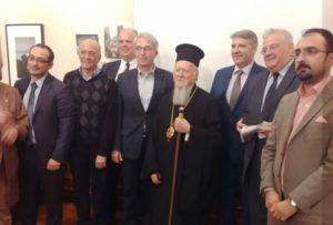 Ο Οικ.Πατριάρχης σε εκδήλωση για τον Ελληνισμό της Πόλης στον σύγχρονο Τύπο (ΦΩΤΟ)
