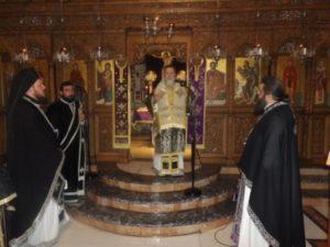 Προηγιασμένη Θεία Λειτουργία στη Μητρόπολη Κορίνθου (ΦΩΤΟ)