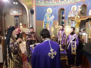 Προηγιασμένη Θεία Λειτουργία από τον Χαλκίδος Χρυσόστομο (ΦΩΤΟ)