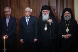 Η Διαβεβαίωση του Μάνης Χρυσοστόμου στον Πρόεδρο της Δημοκρατίας (ΦΩΤΟ)