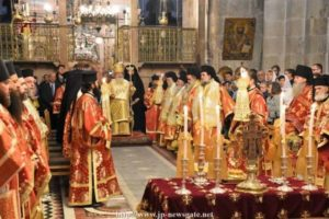 Πατριαρχείο Ιεροσολύμων: Πλειάδα Ιεραρχών στα ονομαστήρια του Θεόφιλου (ΦΩΤΟ)