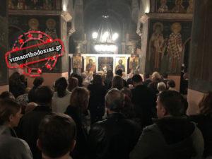 Πλήθος πιστών στους Ναούς στην Ακολουθία του Ακαθίστου Υμνου (ΒΙΝΤΕΟ & ΦΩΤΟ)