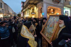 Η Καλαμάτα υποδέχθηκε την Παναγία Πεταλιδιώτισσα (ΦΩΤΟ)