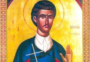 20 Μαρτίου- Γιορτή σήμερα: Του Αγίου Μύρωνος από το Ηράκλειο Κρήτης