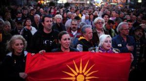 Σκόπια: «Ρωσικό δάκτυλο» βλέπουν πίσω από τις διαμαρτυρίες