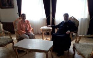 Συνάντηση Αρχιεπισκόπου Κύπρου με τη νέα Πρέσβειρα της Αυστρίας