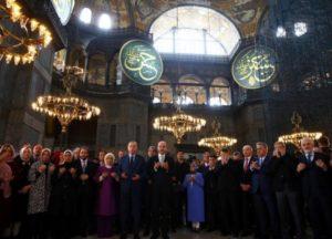 Απίστευτη πρόκληση Ερντογάν: «Θα την ονομάσουμε Τέμενος Αγιά Σοφιά»