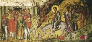 Κυριακή των Βαΐων: Μετά βαΐων και κλάδων