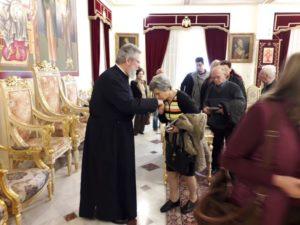 Η χορωδία Κορακιάνας «Σπύρος Σαμάρας» της Κέρκυρας στον Αρχιεπίσκοπο Κύπρου (ΦΩΤΟ)