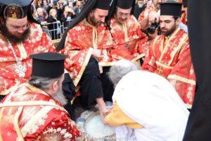 Ιεροσόλυμα: Η Τελετή του Νιπτήρος παρουσία πλήθους κόσμου (ΒΙΝΤΕΟ & ΦΩΤΟ)