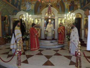 Κορίνθου Διονύσιος: «Ο Αγιος Γεώργιος θα βοηθήσει να ελευθερωθούν οι Ελληνες στρατιώτες»