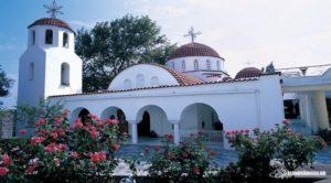 Μυτιλήνη: Το λαμπρό μοναστήρι των Αγίων Ραφαήλ, Νικόλαο και Ειρήνη (ΦΩΤΟ)