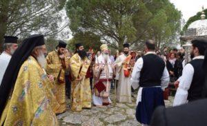 Κεφαλονιά: Η λιτανεία του σκηνώματος του Αγίου Γερασίμου (ΦΩΤΟ)