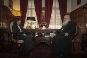 Στον Αρχιεπίσκοπο Ιερώνυμο η Πρέσβης του Λιβάνου (ΦΩΤΟ)