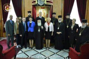 Στον Πατριάρχη Ιεροσολύμων η Πρωθυπουργός της Ρουμανίας (ΒΙΝΤΕΟ & ΦΩΤΟ)