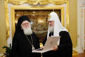 Για πρώτη φορά στην Αλβανία ο Πατριάρχης Μόσχας