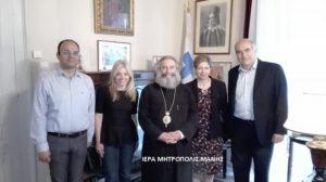 Εθιμοτυπικές επισκέψεις στον Μάνης Χρυσόστομο (ΦΩΤΟ)