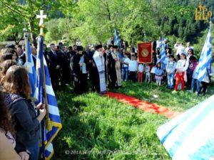 Ι.Μ. Αρτης: Μνήμη Πεσόντων Σουλιωτών στο Μοναστήρι Σέλτσου (ΦΩΤΟ)