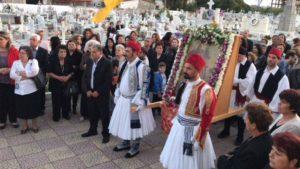 Ο Αγιος Γεώργιος εορτάστηκε ιεροπρεπώς στο Β΄ Κοιμητήριο Πύργου (ΦΩΤΟ)