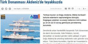 33 πολεμικά πλοία στη Μεσόγειο-Η Τουρκία και τo ISIS