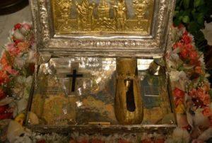 Το χέρι της Αγίας Μαρίας της Μαγδαληνής από το Άγιον Όρος στην Αθήνα