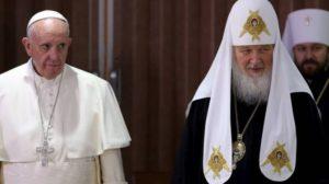 «Δεν υπάρχουν οι προϋποθέσεις για την επίσκεψη του Πάπα στη Ρωσία»