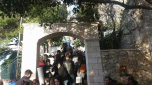 Η εορτή του Αγίου Γεωργίου στο Ναό των Αγίων Ισιδώρων Λυκαβηττού