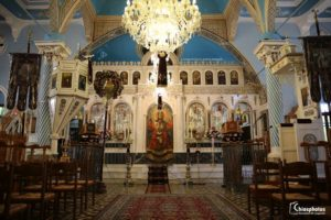 Ο ιστορικός Ναός του Αγίου Γεωργίου στο Κάστρο της Χίου (ΒΙΝΤΕΟ & ΦΩΤΟ)