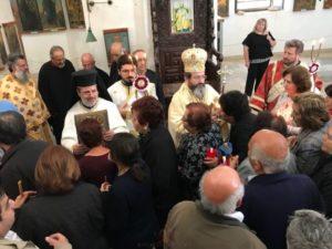 Θεία Λειτουργία στην Μονή Αποστόλου Βαρνάβα στην κατεχόμενη Κύπρο (ΦΩΤΟ)