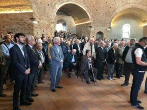 Πλήθος κόσμου στη Ροτόντα για την εορτή του Αγίου Γεωργίου (ΦΩΤΟ)