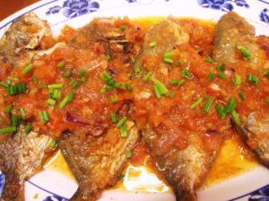 Αγιορείτικη συνταγή: Ψάρια σαβόρ (μαρινάτα)
