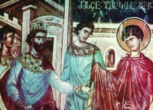 Ο Άγιος Γεώργιος και ο Απόλλων