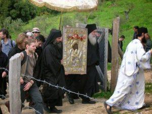 Λιτανεία σήμερα – Δεύτερη ημέρα του Πάσχα στο Αγιο Ορος