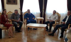 Συνάντηση του Κύπρου Χρυσοστόμου με Ρώσους γιατρούς