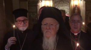 Ο Οικουμενικός Πατριάρχης στη Βασιλική των Αγίων Δώδεκα Αποστόλων στη Ρώμη (ΒΙΝΤΕΟ)